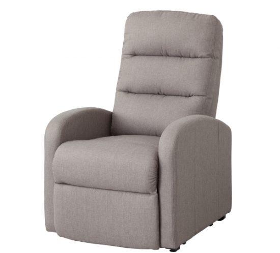 nakura sillon relax pravia tela gris